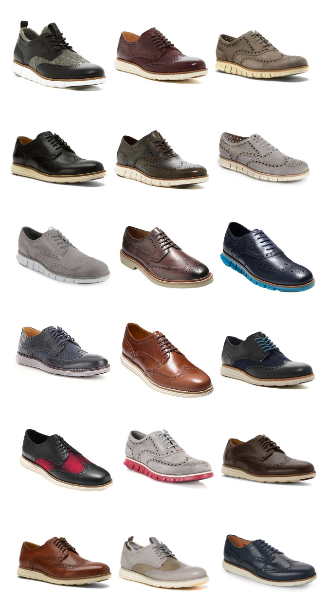 18 Original Wingtip Oxfords For Men Cole Haan Frenzystyle