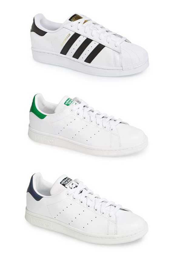 3 Beautiful white low top sneakers I