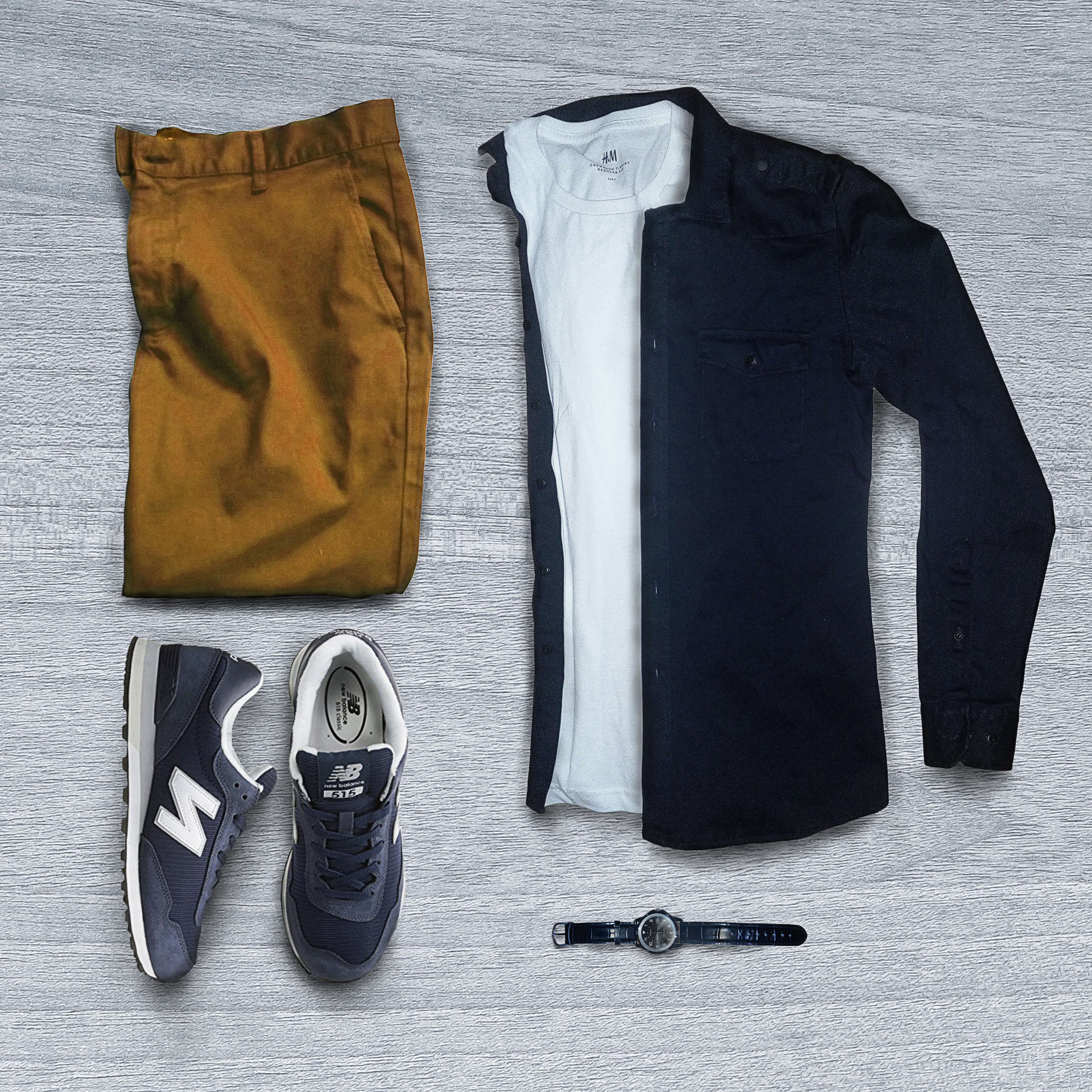 Nice and Simple New Balance outfit perfect match FrenzyStyle