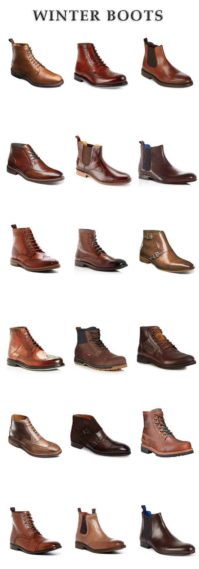 33 Winter Leather Boots for Guys who love Stylish